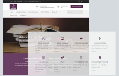 Advocate-in-Lahore SS-websolution